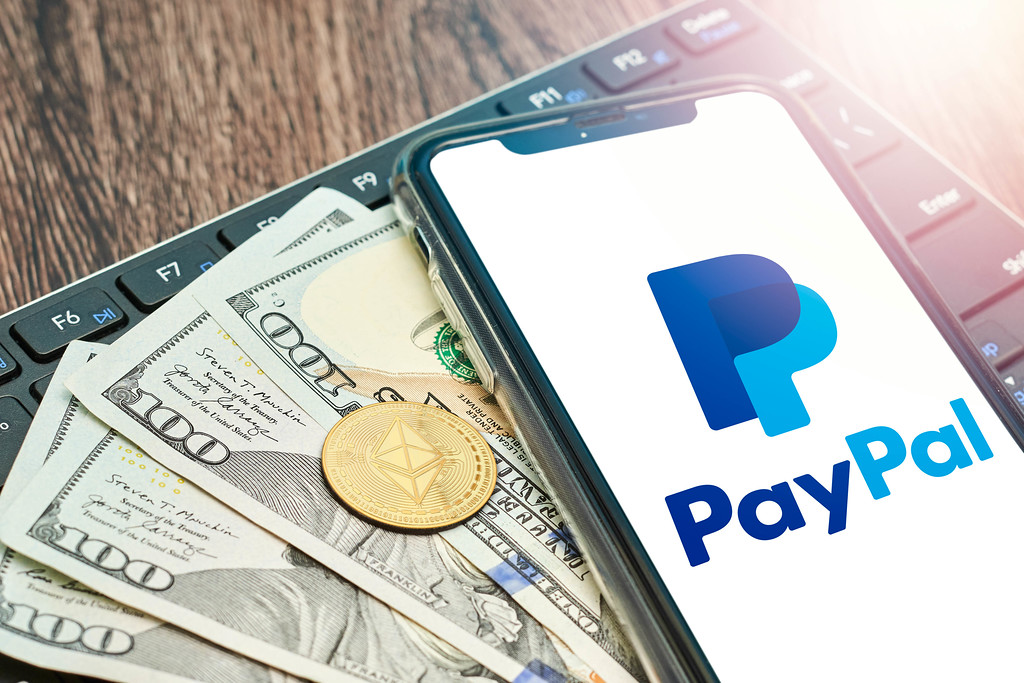 PayPal accepting bitcoin