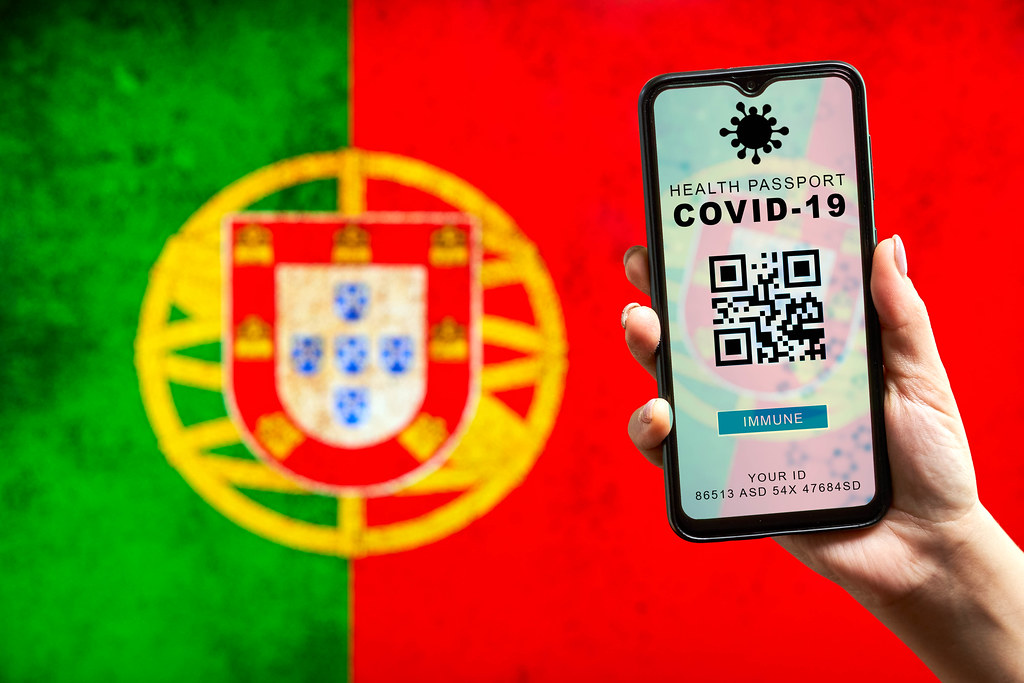 Portugal testing Digital COVID-19 immunization passport