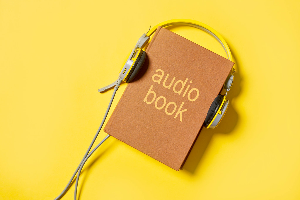 Reading or listening audiobook
