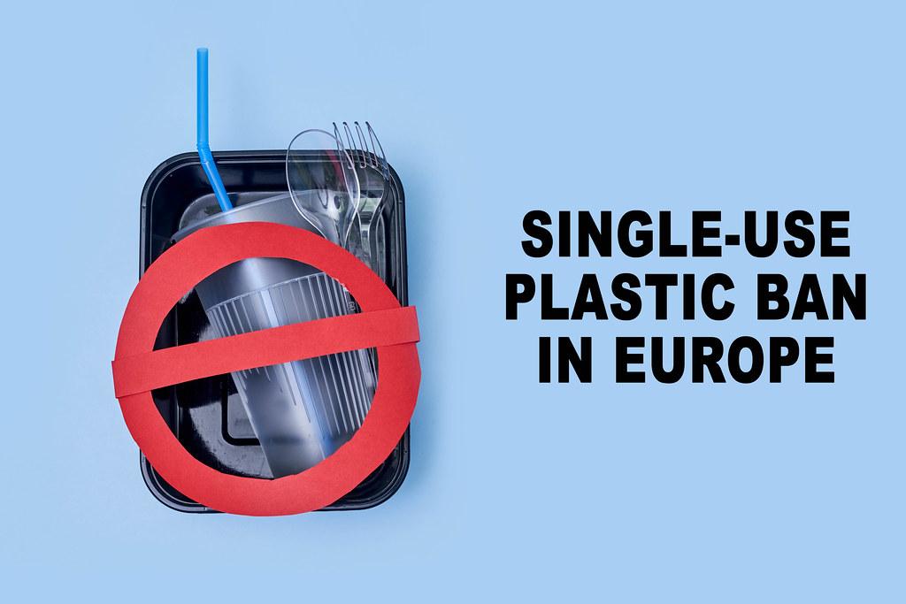 Single-use plastic ban in Europe