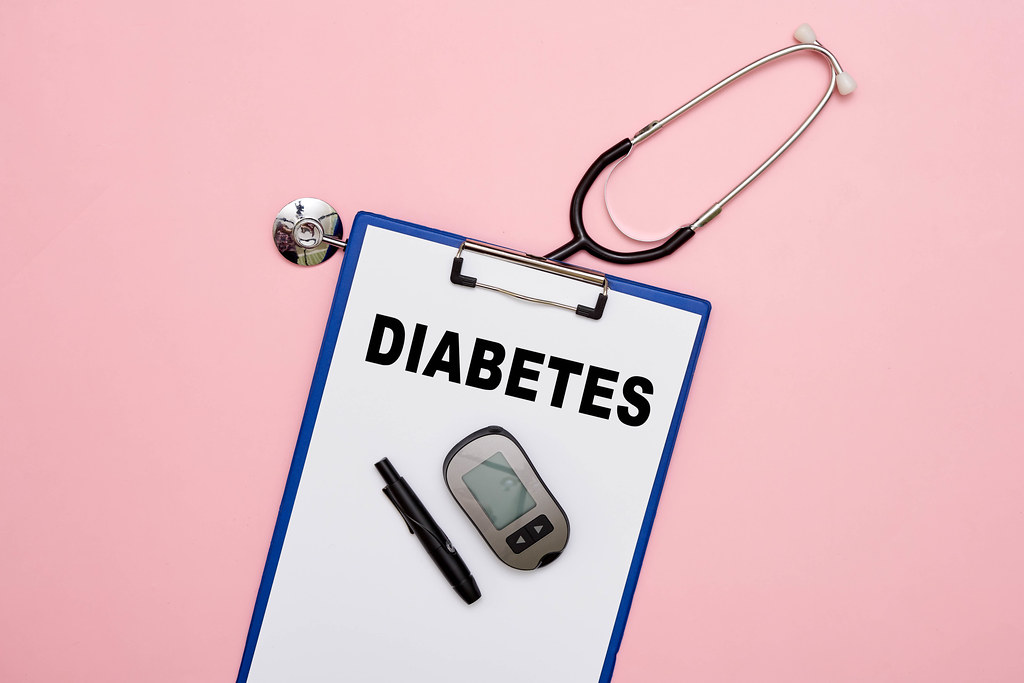Stethoscope and diabetes testing kit