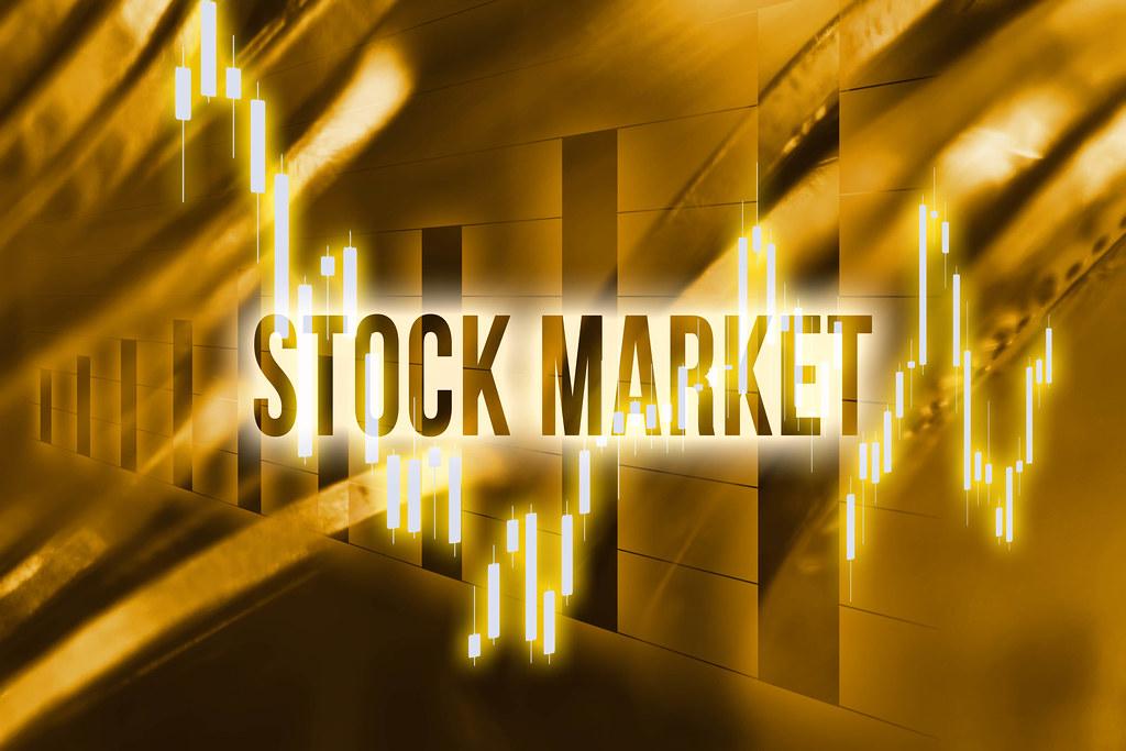Stock market - financial concept