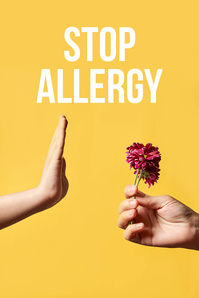 Stop allergy concept