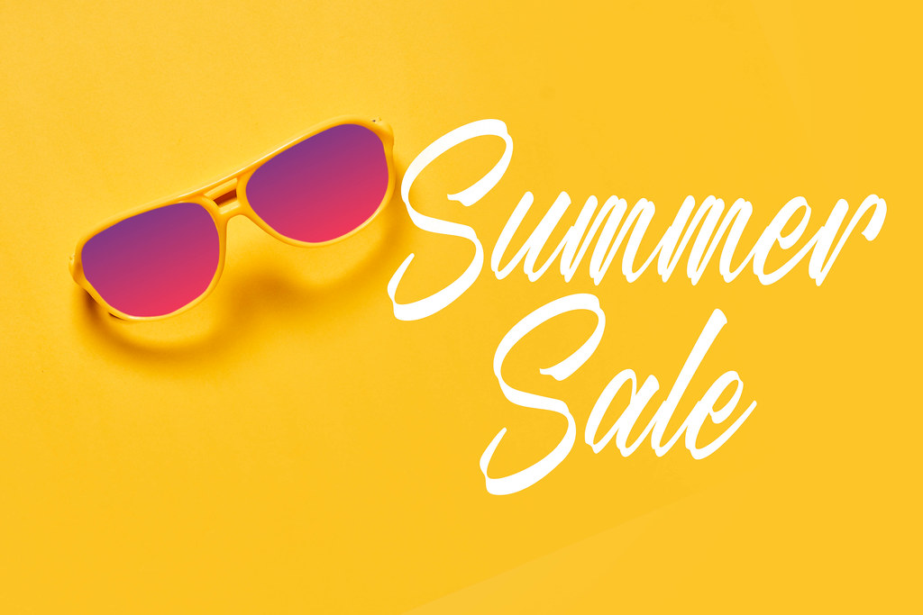 Summer sales concept