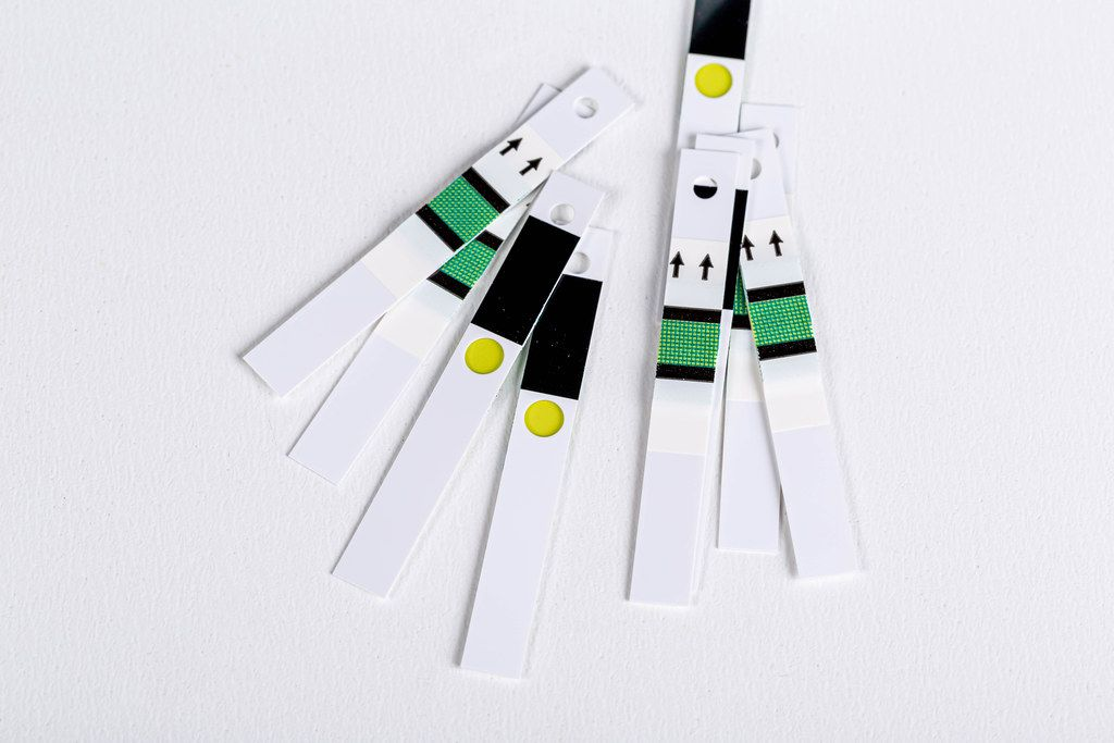 Test strips for glucometer