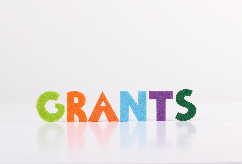 The word Grants on white background