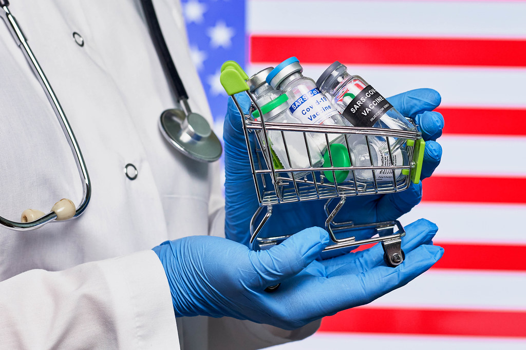 US government buys vaccines from various pharmaceutical companies