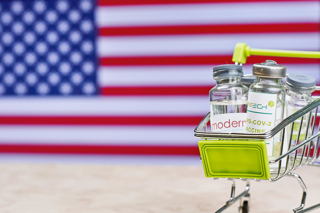 USA government orders Moderna and BioNTech vaccines