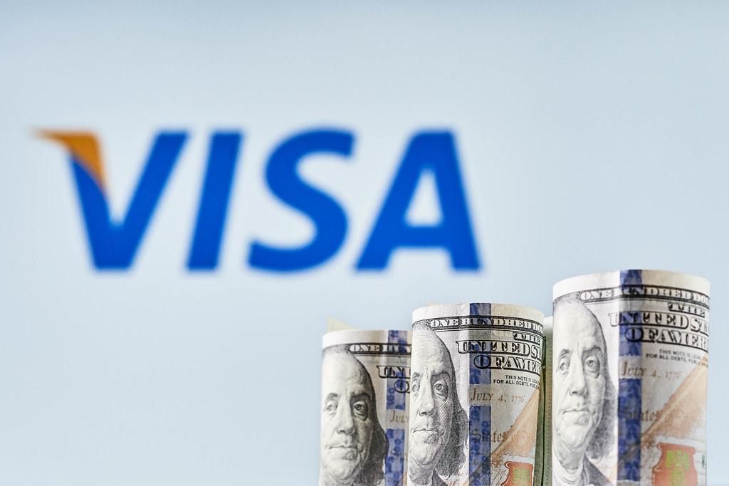 Visa Stock Gains Ground