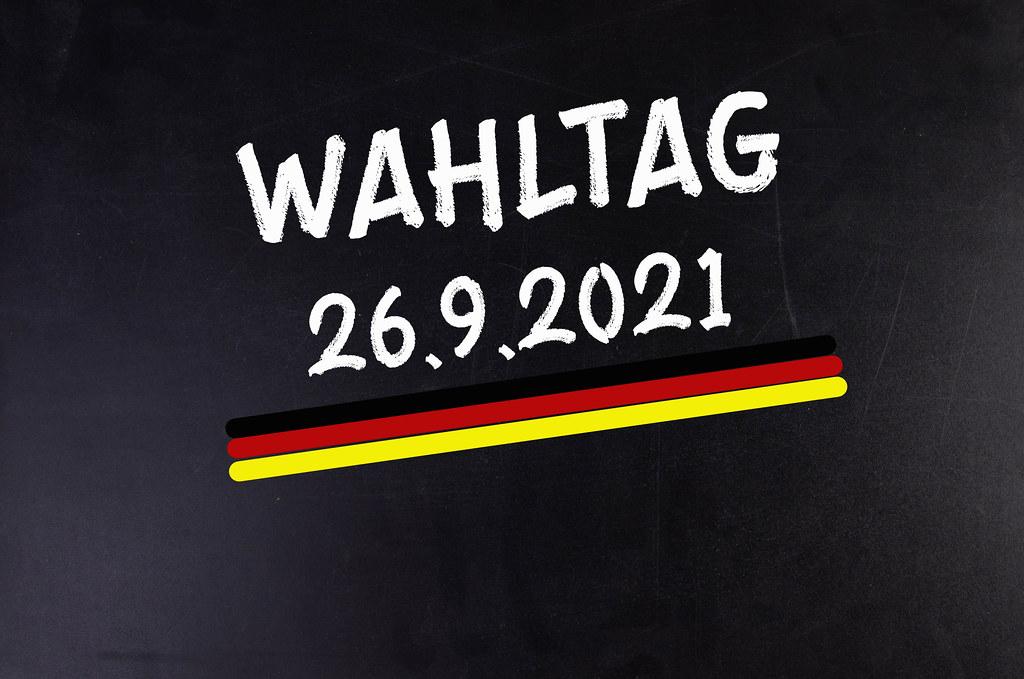Wahltag - Termin Bundestagswahl 2021