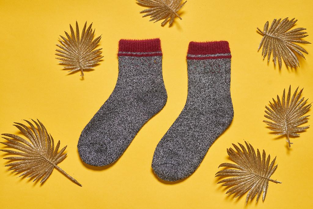 Warm socks for fall season