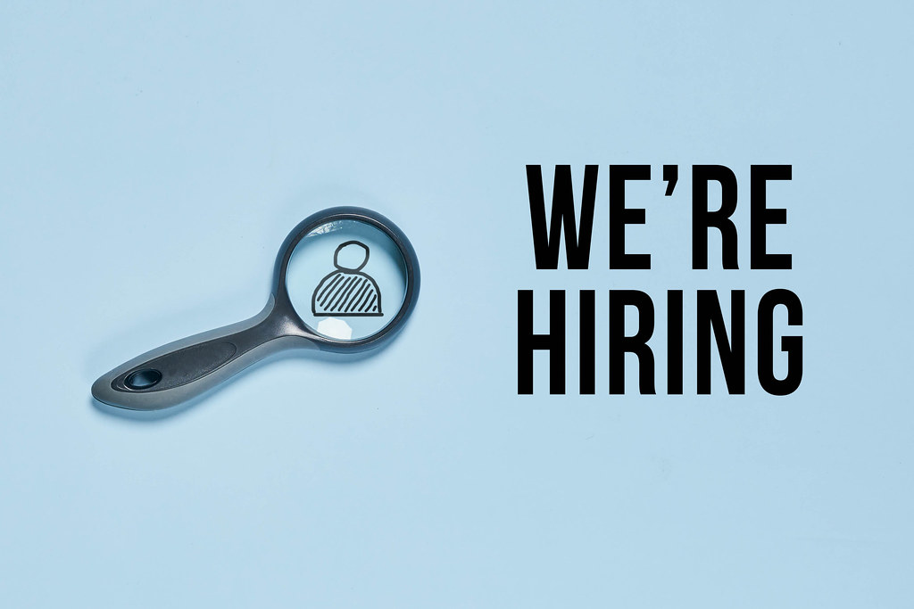 We are hiring, HR, business concept