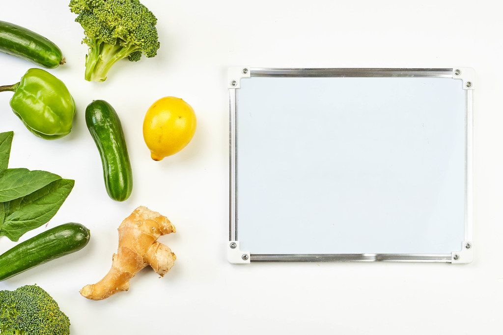 Weight loss plan with organic food