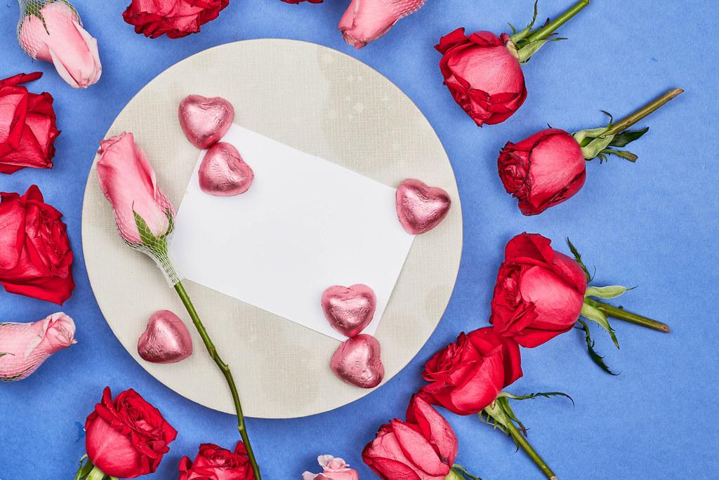 Women's Day mockup greeting card