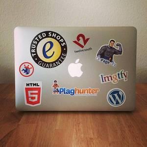 #4sqcamp Sticker mit Ehrenplatz. :)