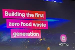 """Building the first zero food waste generation"": presentation by Karma"