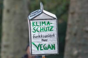 """""""Klimaschutz funktioniert nur Vegan"""":  Ernährung ohne Tierprodukte als klimafreundlichere Lebensweise"""
