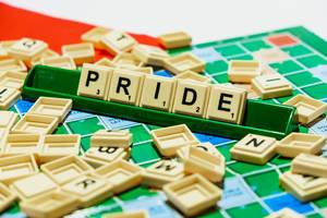 """Pride"" word on scrabble"