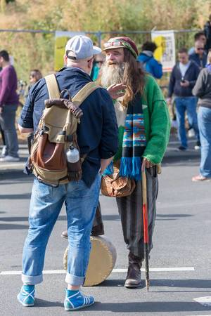 """""""United for climate"""": Older men supporting students and worldwide climate strike"""