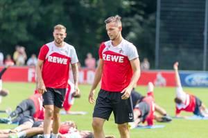 1. FC Köln Abwehrspieler Pawel Olkowski beim Training