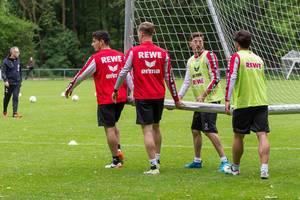 1. FC Köln beim Training
