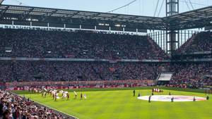 1. FC Köln - FC Bayern München am 05.05.2018: Südkurve