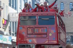 1. FC Köln mit Modeste, Bittencourt und Gerhardt
