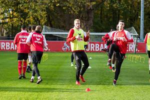 1. FC Köln players during training 13.11.2017