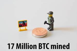 17 Million Bitcoin were mined today