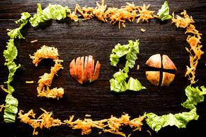 2020 formed with food over wood
