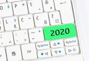 2020 green keyboard button
