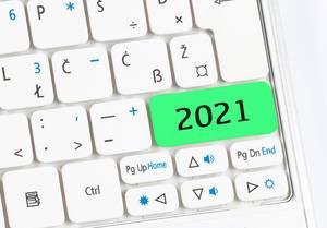 2021 green keyboard button