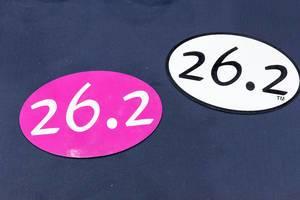 26.2 Miles Sticker