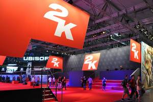 2K Stand auf der Gamescom