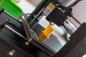 3D-Drucker beim Drucken