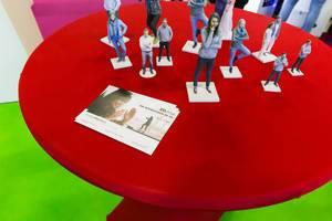 3D.me Broschüren und Figuren - Gamescom 2017, Köln