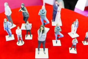 3D.me figures - Gamescom 2017, Cologne