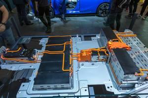 50-kWh-Batterie des Elektro-Kleinwagens Corsa-e von Opel