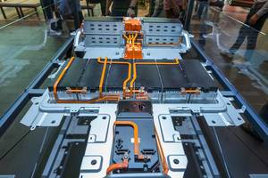 50kWh Corsa-e Battery with lithium-ion-technology for fast-charging