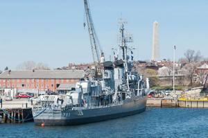 793 Navy Ship at the Charlestown Navy Yard