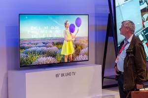 8K Fernseher von Vestel auf der IFA Berlin 2018