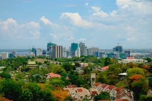 A view of metro Cebu from the temple (Flip 2019)