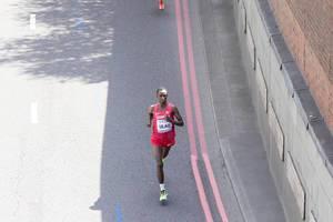 Abdi Hakin Ulad (Marathon Finale) bei den IAAF Leichtathletik-Weltmeisterschaften 2017 in London