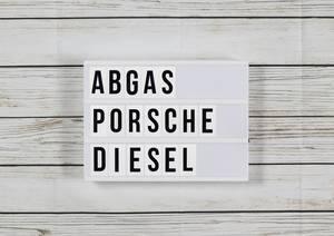 Abgasskandal: Porsche muss manipulierten Diesel zurücknehmen