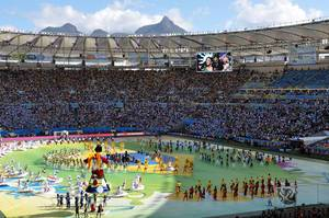 Abschlussfeier Maracana Fifa WM 2014