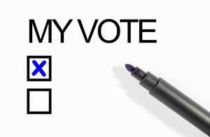 Abstimmung bei den Europawahlen