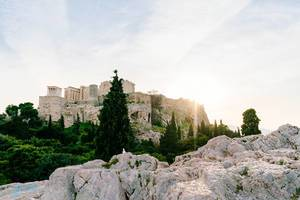 Acropolis fortress on the top of the hill (Flip 2019)