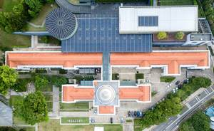 Aerial: National Museum of Singapore
