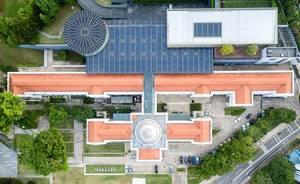 Aerial: National Museum of Singapore