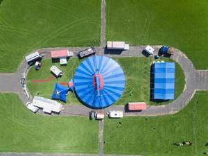 Aerial of Circus